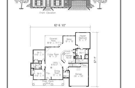 Elegant The Babin Floor Plan