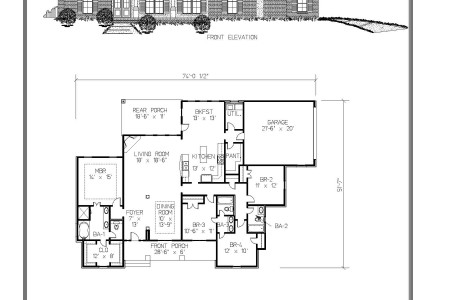 The Dinsmore Floor Plan