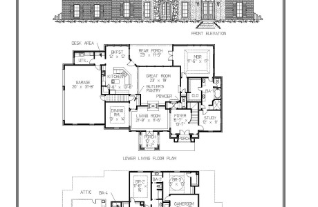 The Poitevant Floor Plan