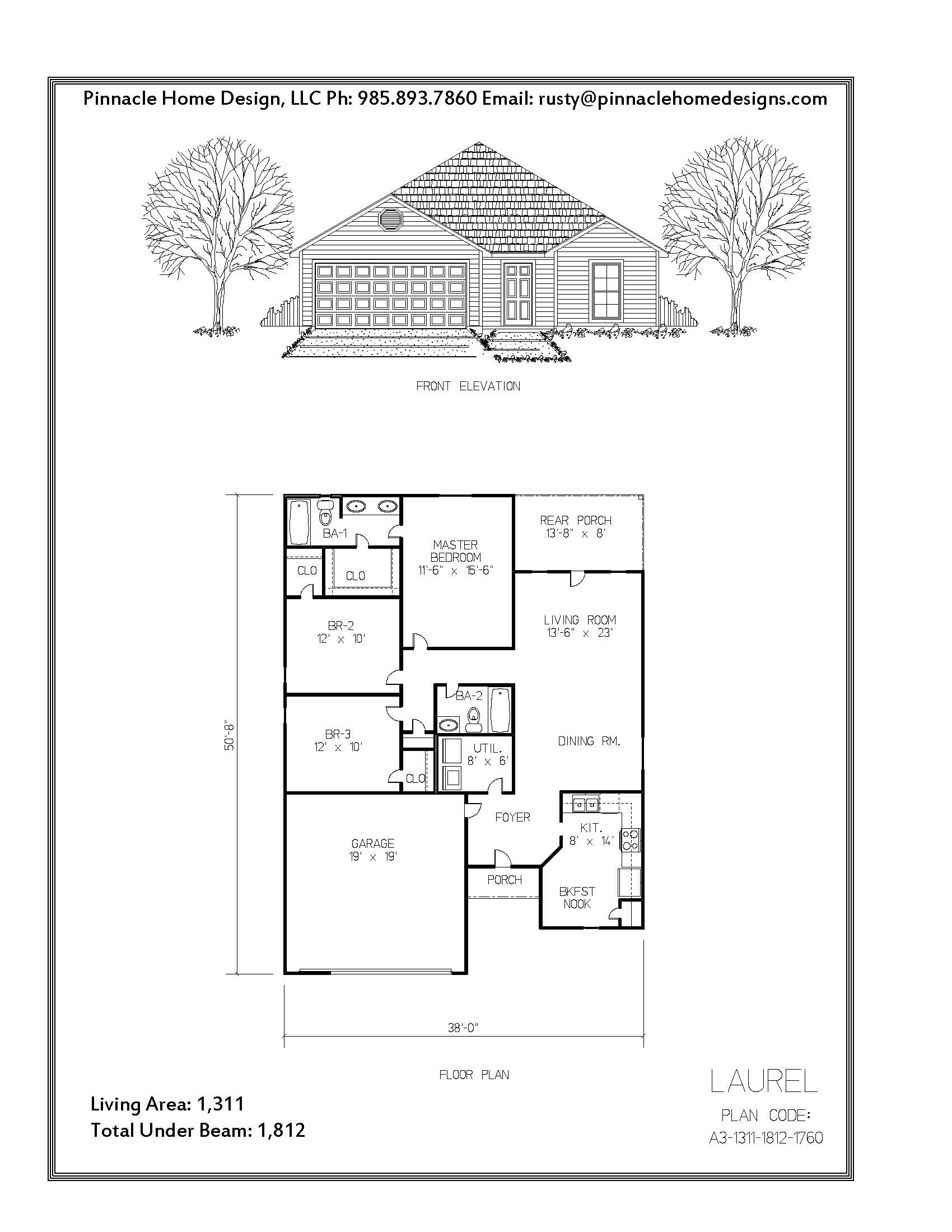 Pinnacle home designs the laurel floor plan pinnacle The laurels floor plan