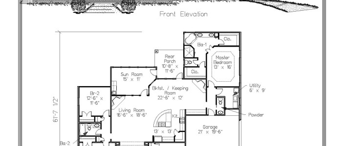 The Brauner Floor Plan